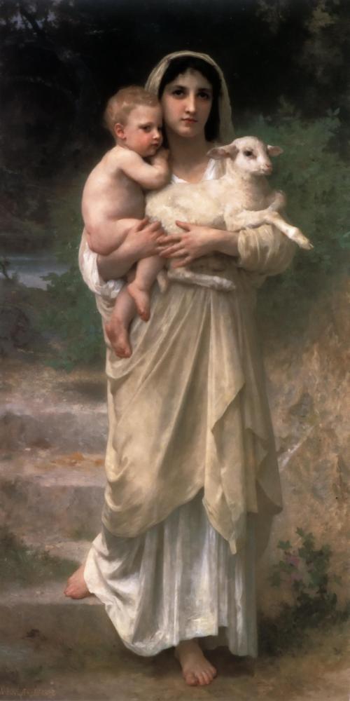 William Bouguereau - Lambs _1897_