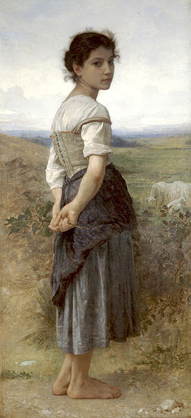 274px-William-Adolphe_Bouguereau_(1825-1905)_-_The_Young_Shepherdess_(1885)