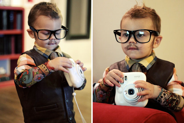 Image result for kids hipster costume