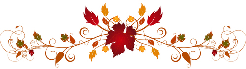 Ornate autumn flourishes