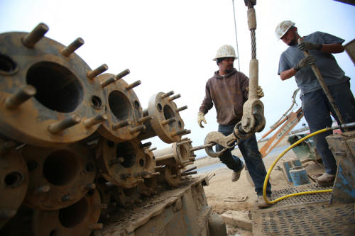 Pixley drilling